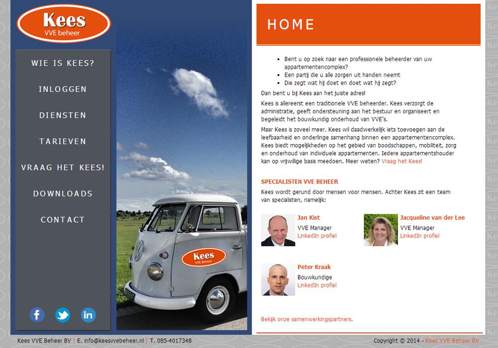 Website Kees VVE Beheer