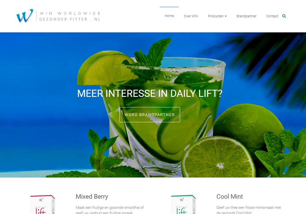 Website gezonderfitter.nl