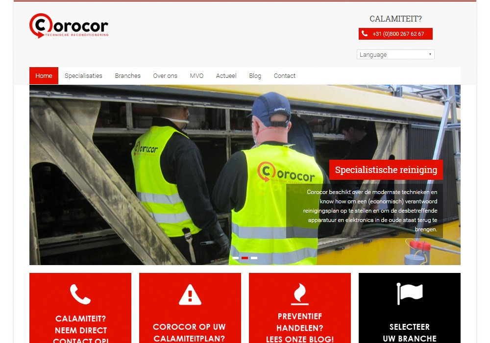 Corocor Technische Recoditionering